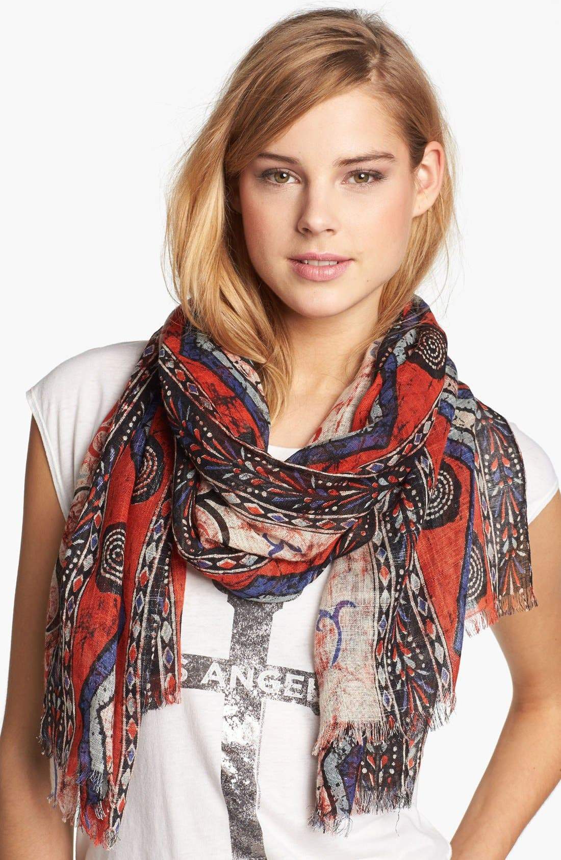 Alternate Image 1 Selected - Brazen Print Scarf