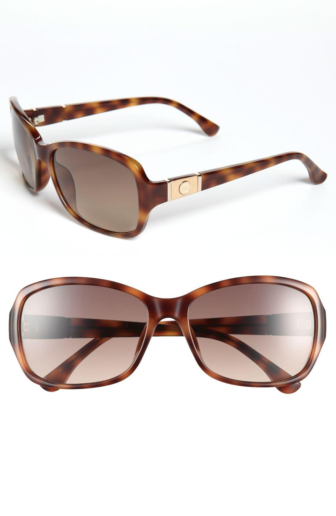 Alternate Image 1 Selected - MICHAEL Michael Kors 'Kayla' 57mm Sunglasses