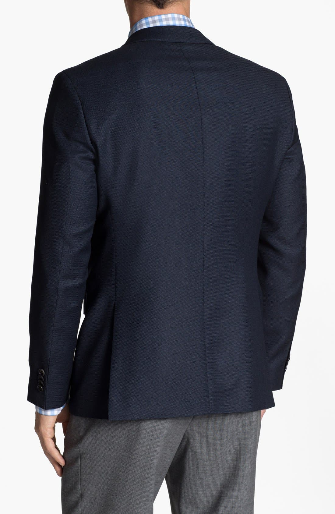 Alternate Image 3  - BOSS HUGO BOSS 'James' Trim Fit Wool Blazer