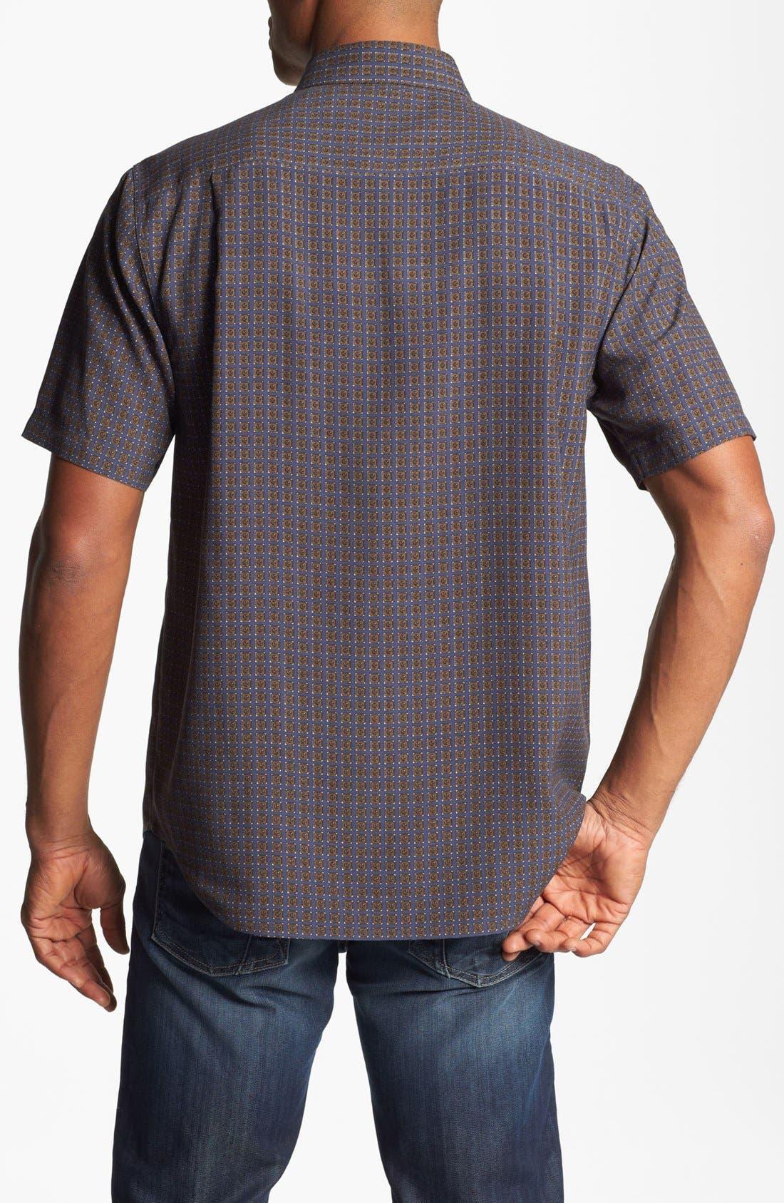 Alternate Image 2  - Nat Nast American Fit Foulard Silk Sport Shirt