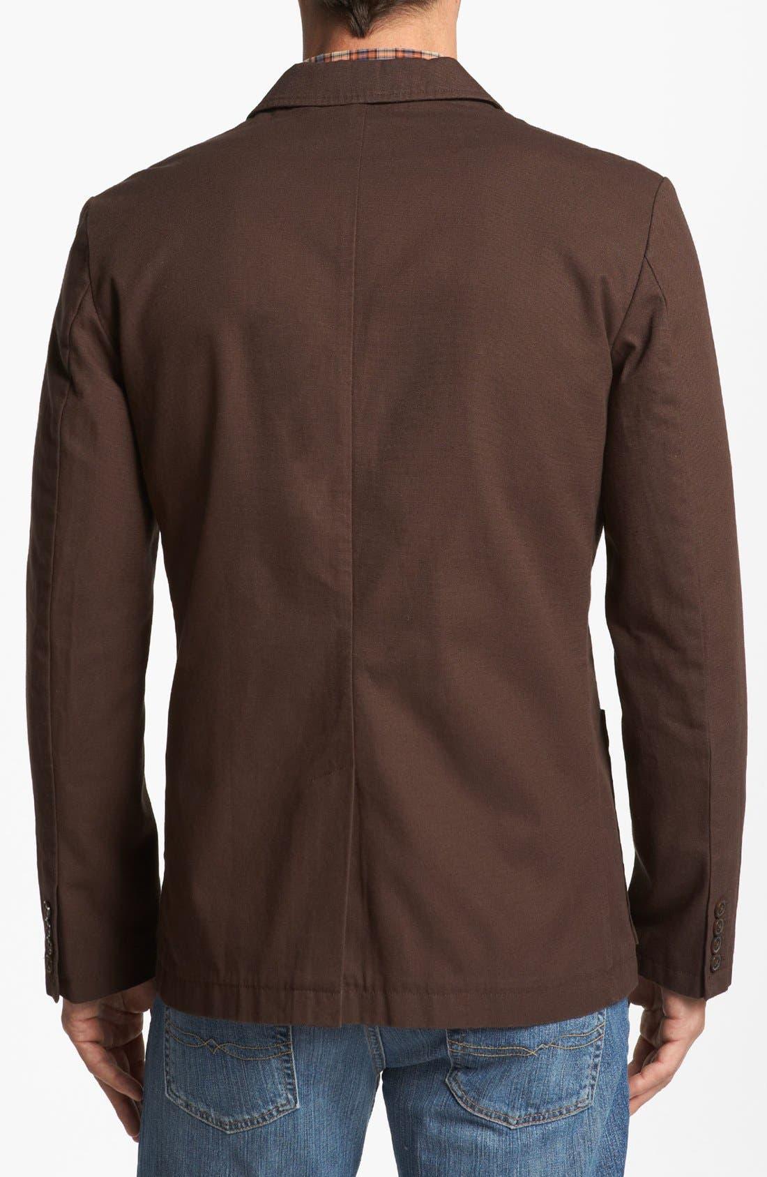 Alternate Image 2  - Wallin & Bros. Trim Fit Dobby Sportcoat