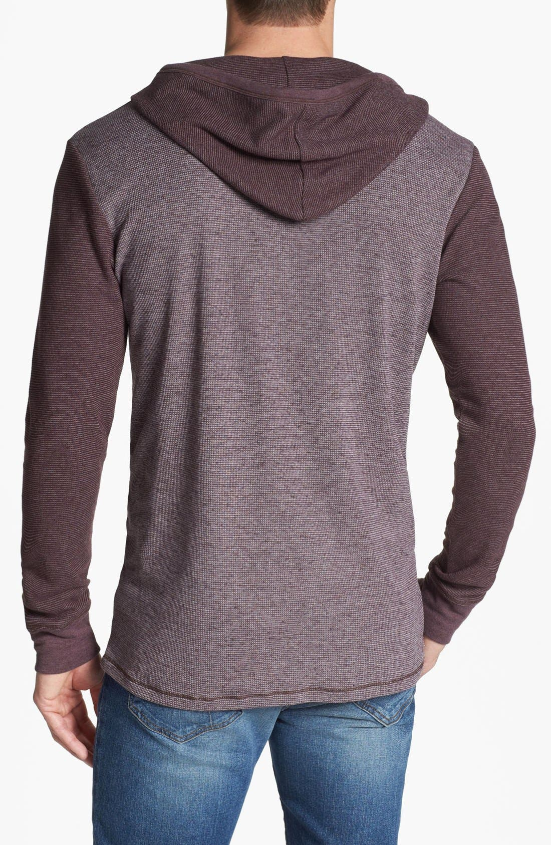Alternate Image 2  - Threads for Thought Thermal Hooded Henley