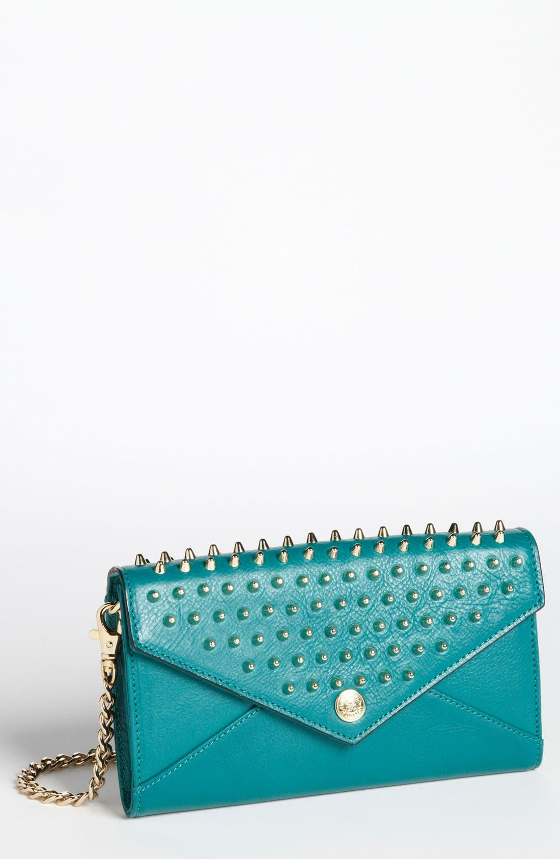 Alternate Image 1 Selected - Rebecca Minkoff 'Studded Wallet on a Chain' Crossbody Bag, Small