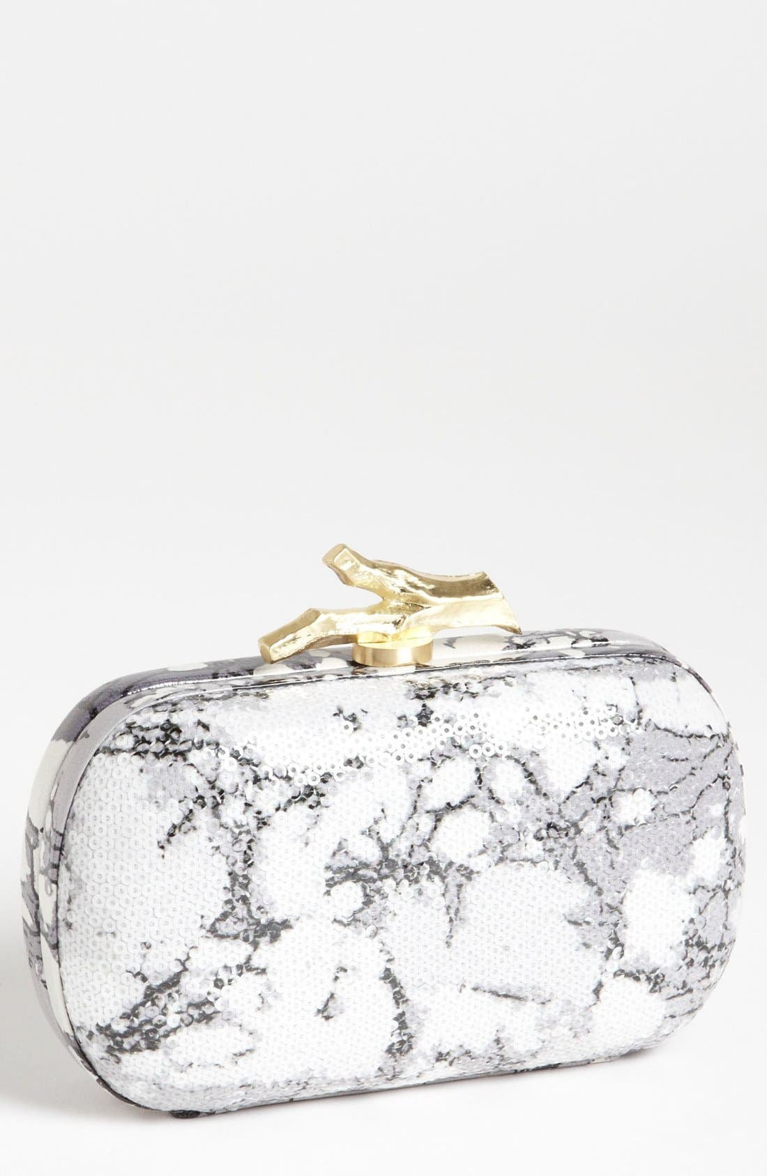 Alternate Image 1 Selected - Diane von Furstenberg 'Lytton' Sequin Clutch
