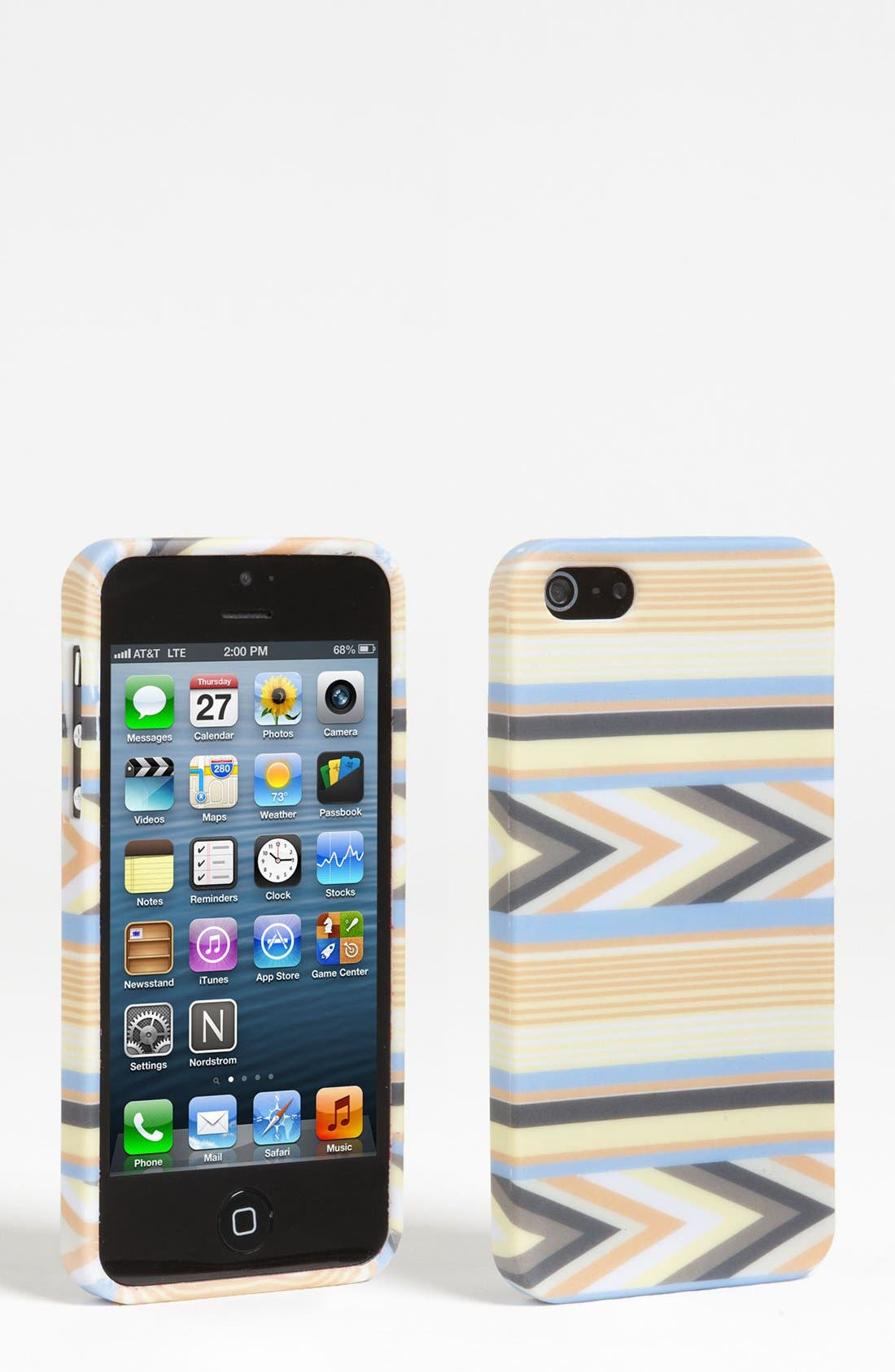 Alternate Image 1 Selected - Design Lab Arrow Print iPhone 5 Case (Juniors)