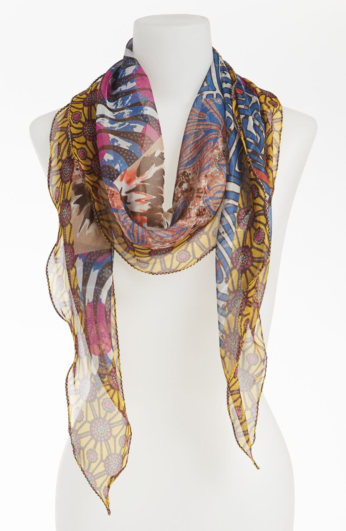 Alternate Image 1 Selected - Nordstrom 'Tribal' Print Scarf