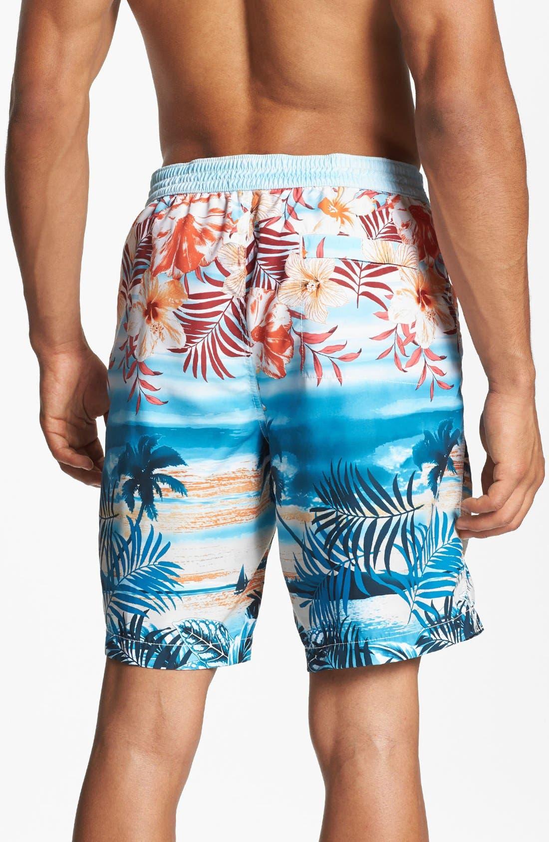 Alternate Image 2  - Tommy Bahama 'Waypoint to Paradise' Swim Trunks