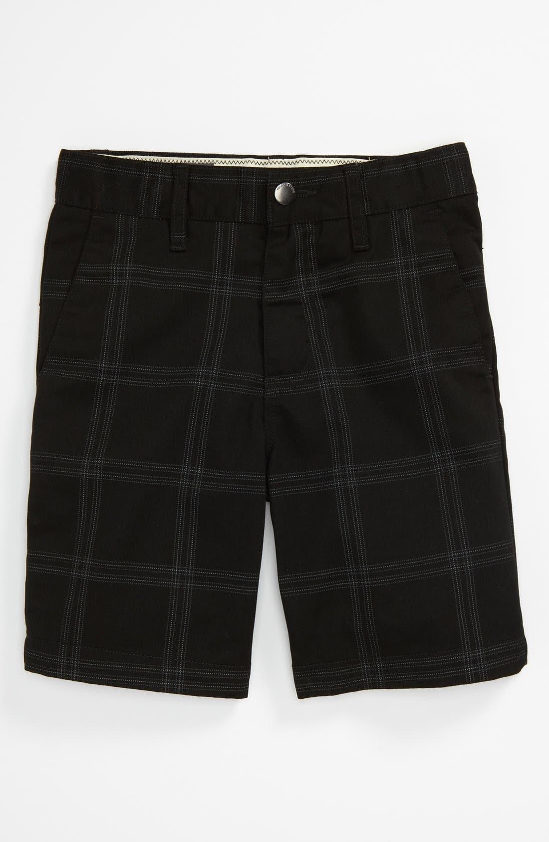 Alternate Image 1 Selected - Volcom Plaid Shorts (Little Boys)