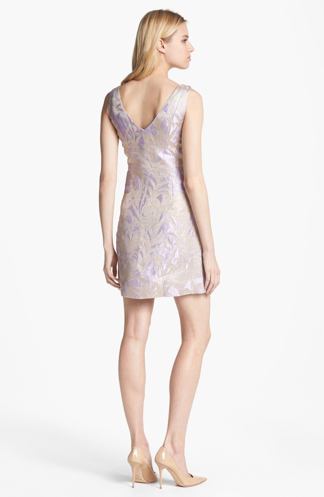 Alternate Image 2  - kate spade new york 'minae' jacquard a-line dress