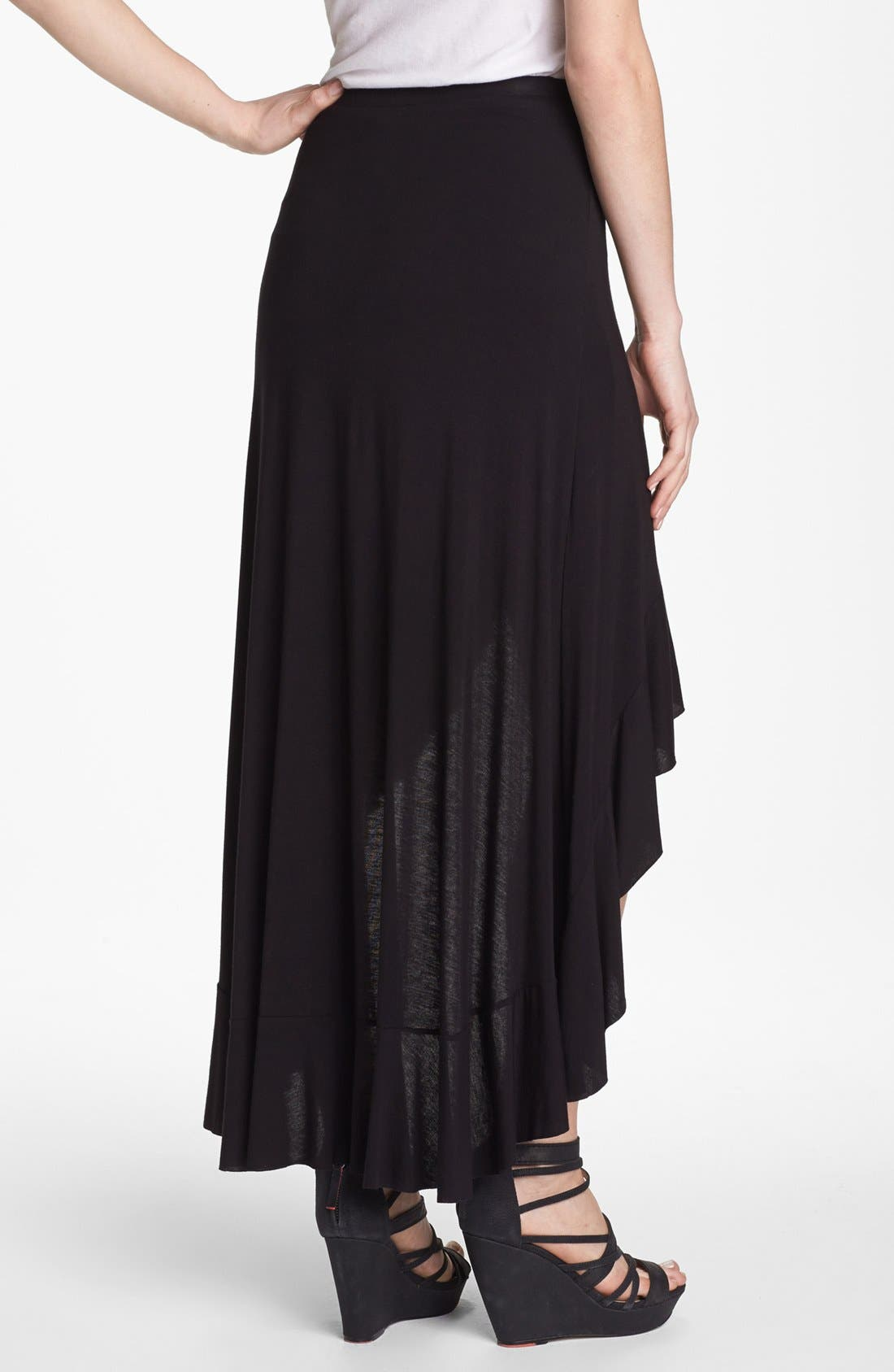 Alternate Image 2  - Bailey 44 'Flamenco' High/Low Faux Wrap Maxi Skirt