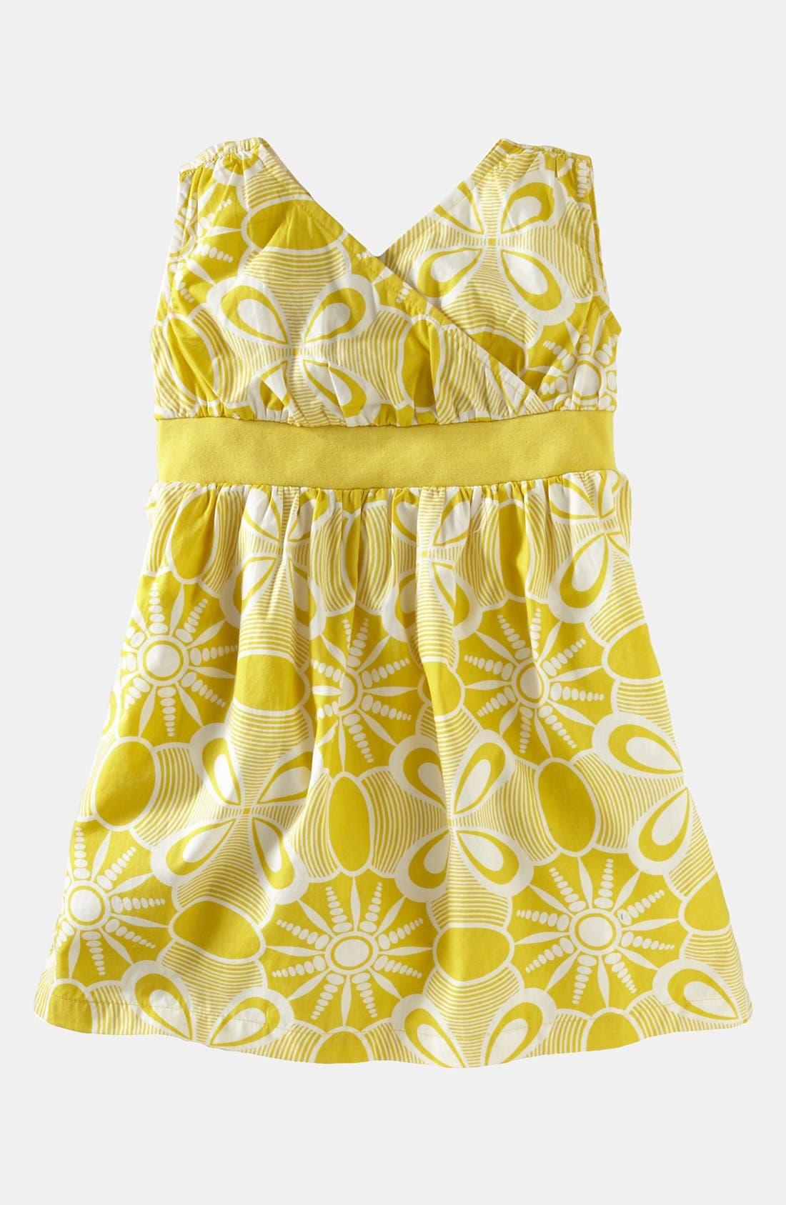 Main Image - Tea Collection 'Sea Urchin' Surplice Dress (Little Girls & Big Girls)