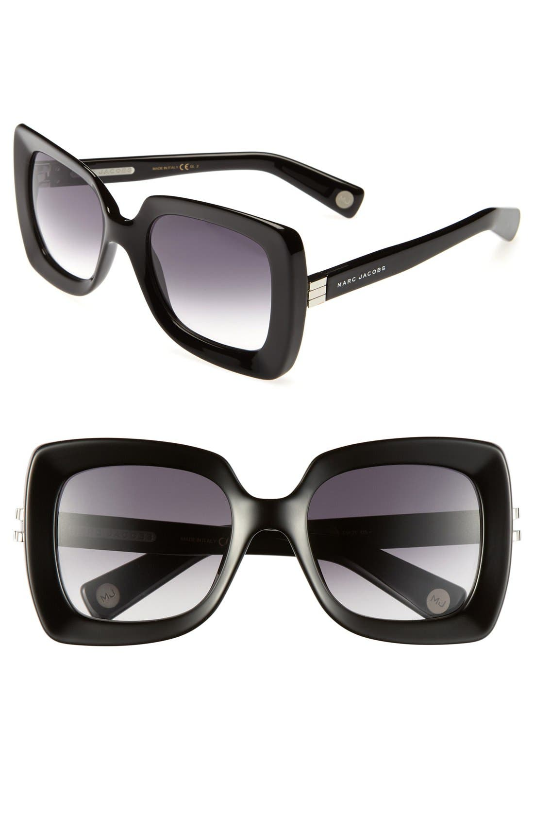 Main Image - MARC JACOBS 53mm Retro Sunglasses