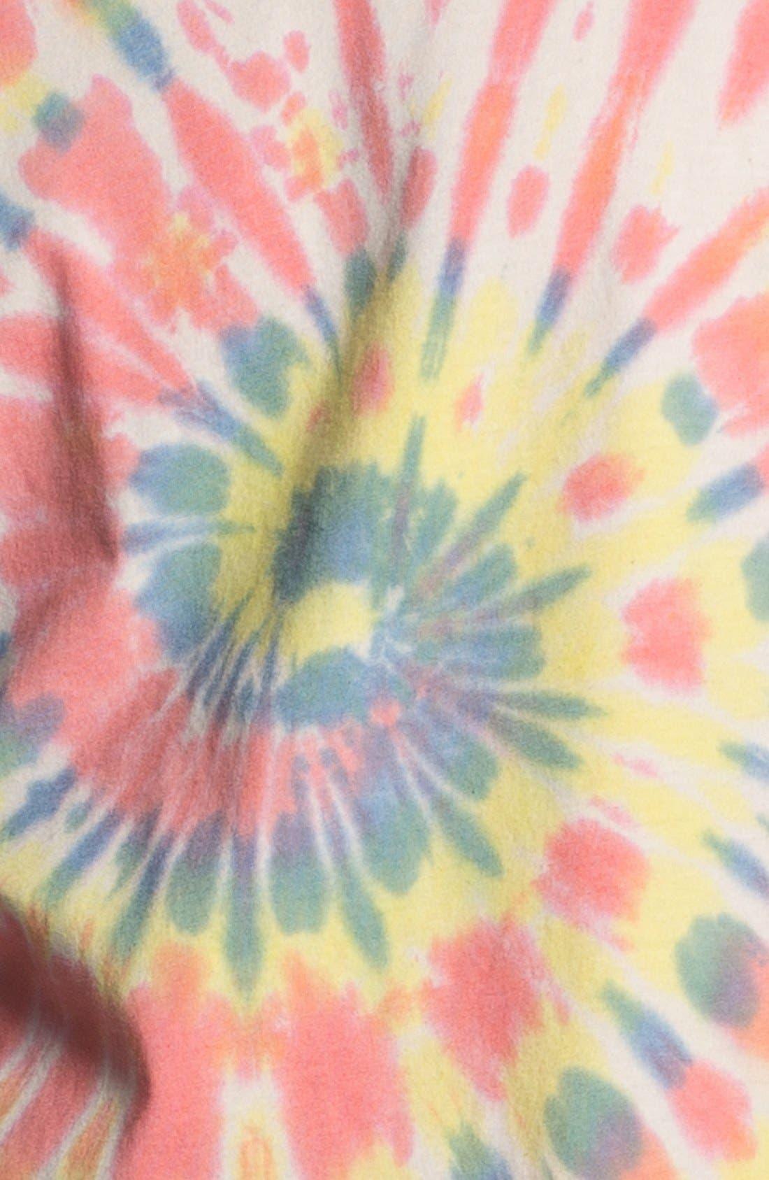 Alternate Image 3  - Topman Tie Dye Crewneck T-Shirt