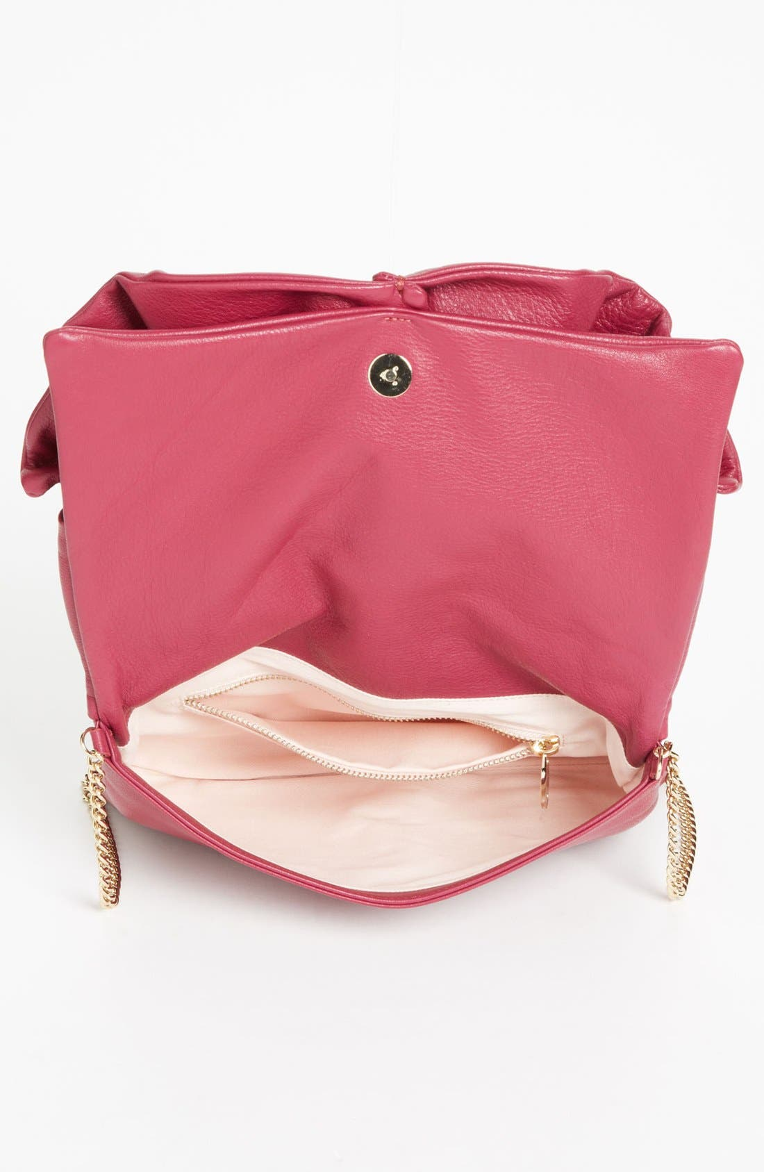 Alternate Image 3  - RED Valentino 'Bow' Leather Clutch