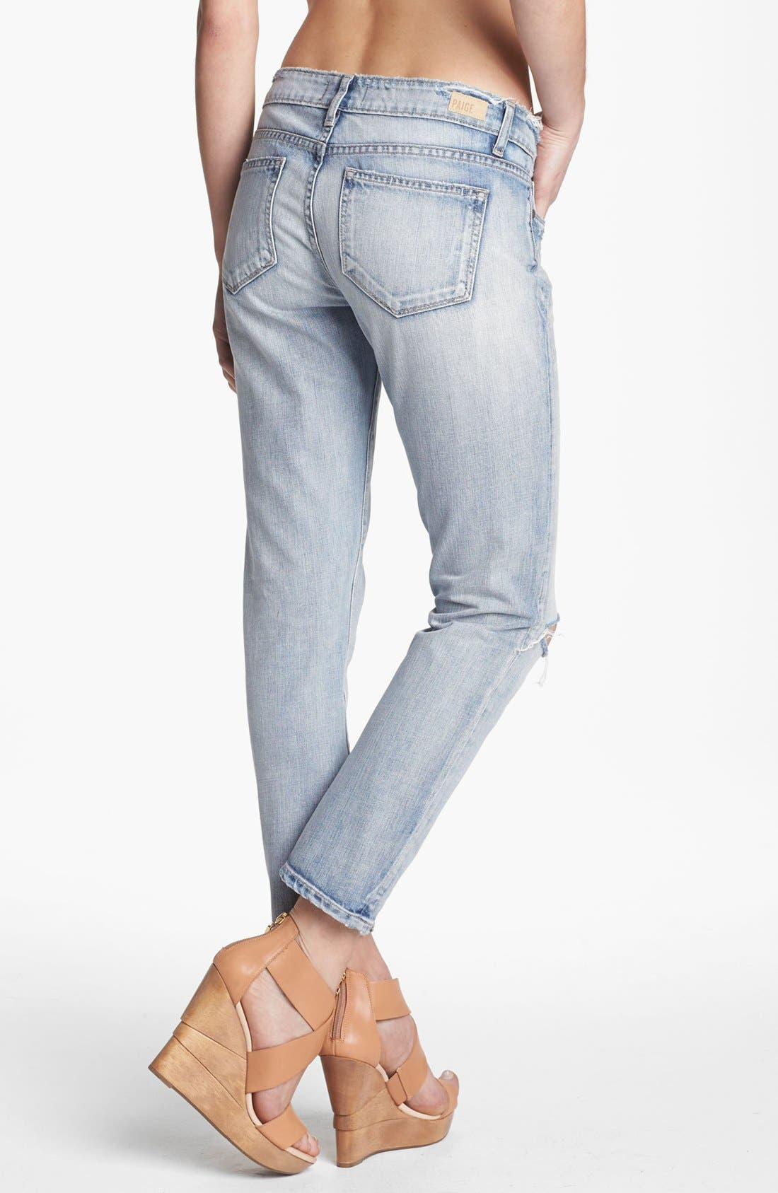 Alternate Image 2  - Paige Denim 'Lydia' Crop Jeans (Pilot)