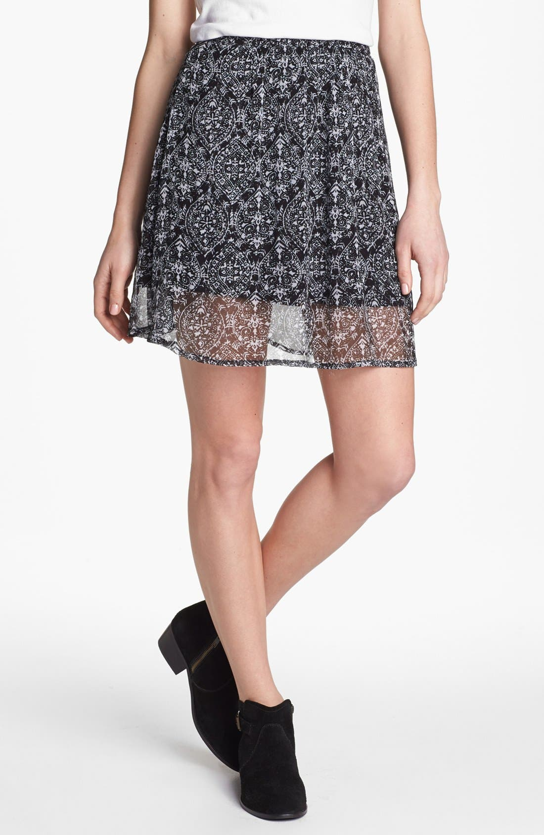 Main Image - Ella Moss 'Cisco' Print Skirt