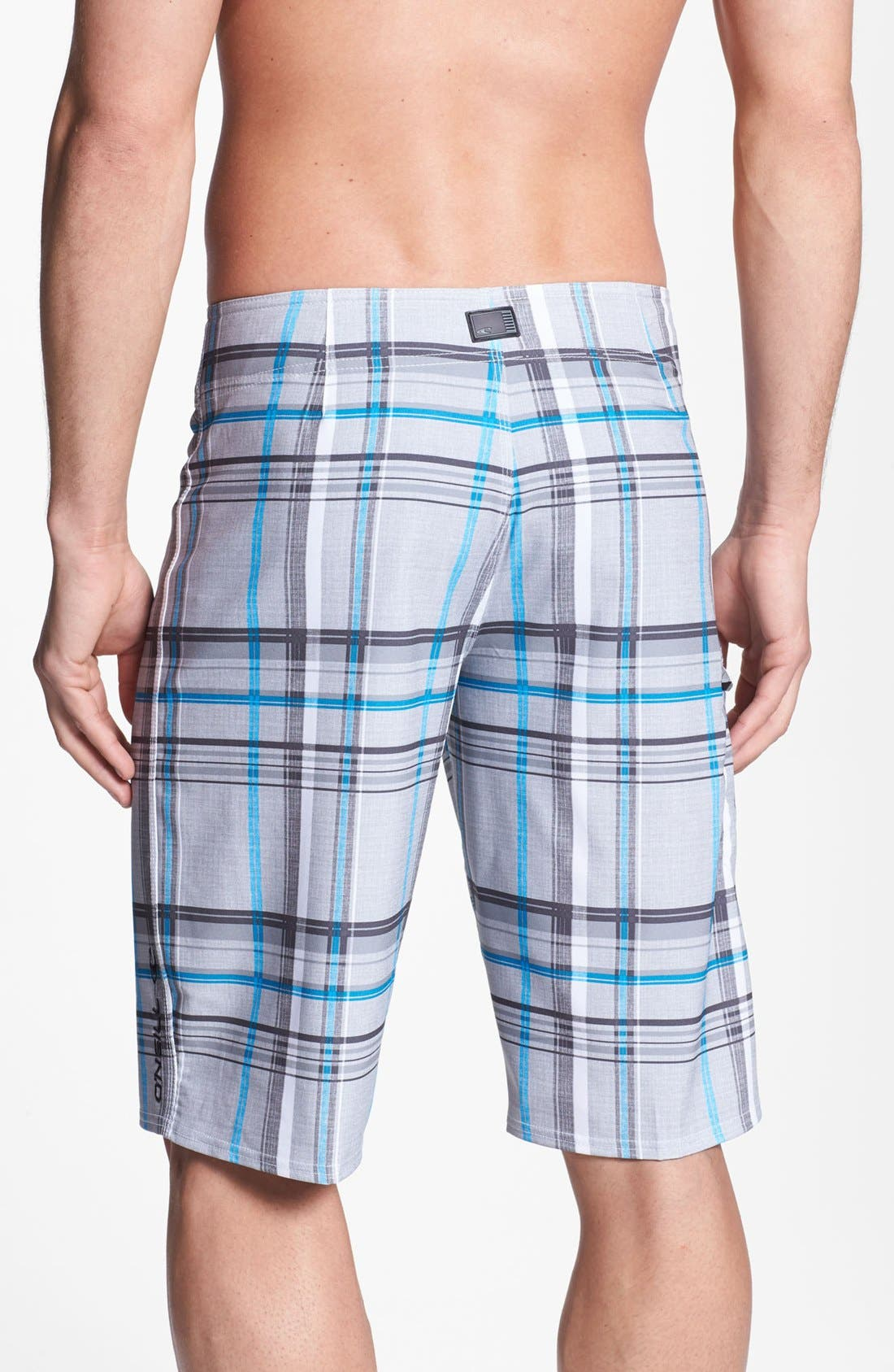 Alternate Image 2  - O'Neill 'Santa Cruz Plaid' Board Shorts