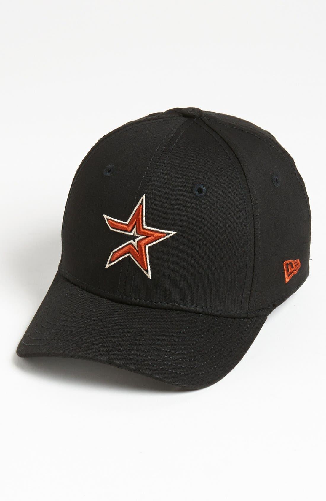 Alternate Image 1 Selected - New Era Cap 'Houston Astros - Tie Breaker' Baseball Cap (Big Boys)