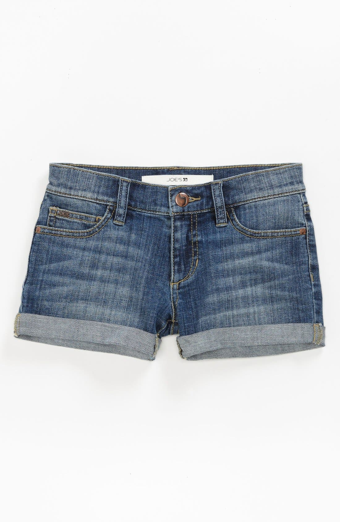 Main Image - Joe's Roll Cuff Shorts (Little Girls & Big Girls)