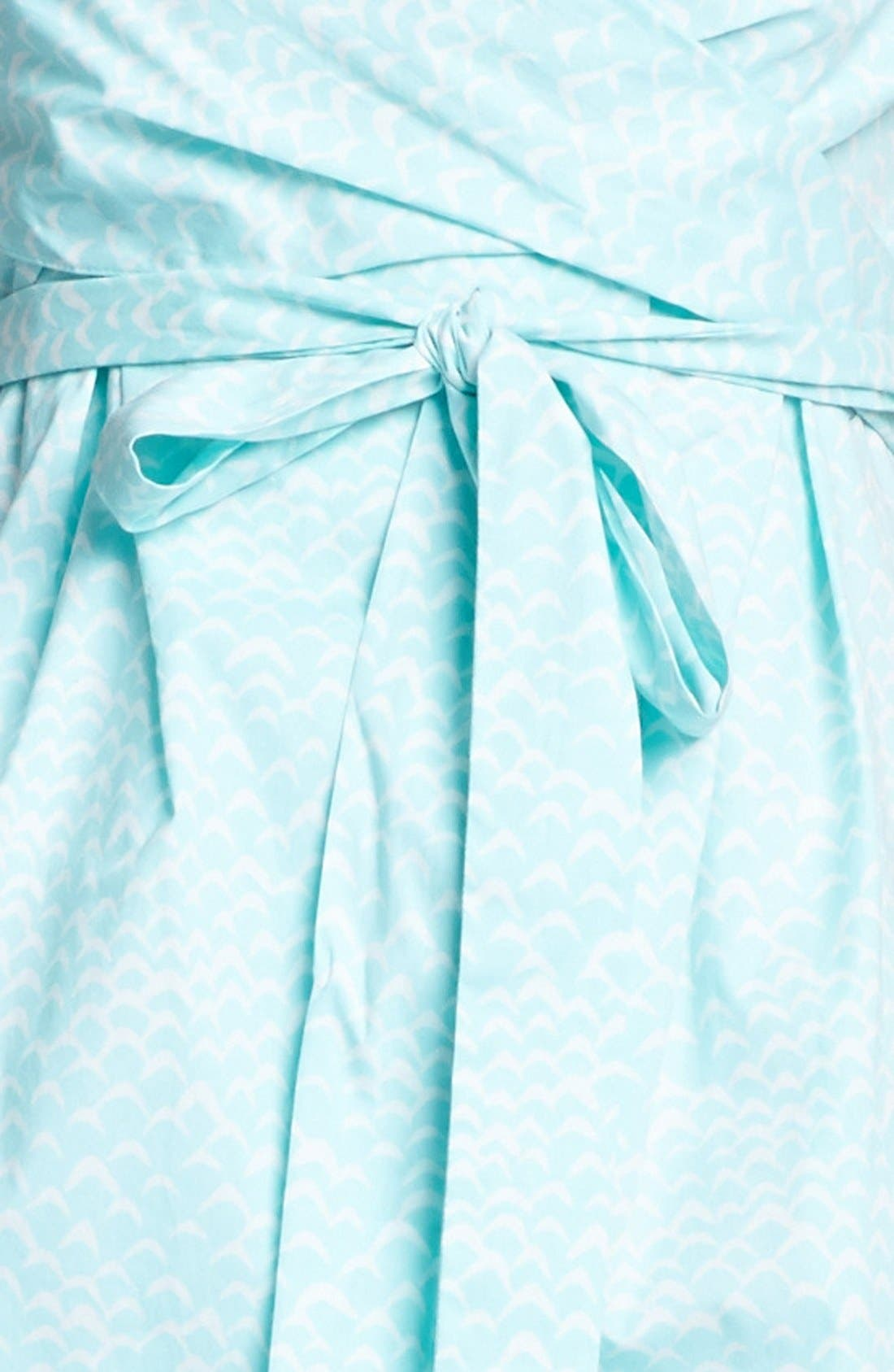 Alternate Image 3  - Diane von Furstenberg 'Carol' Cotton Wrap Minidress