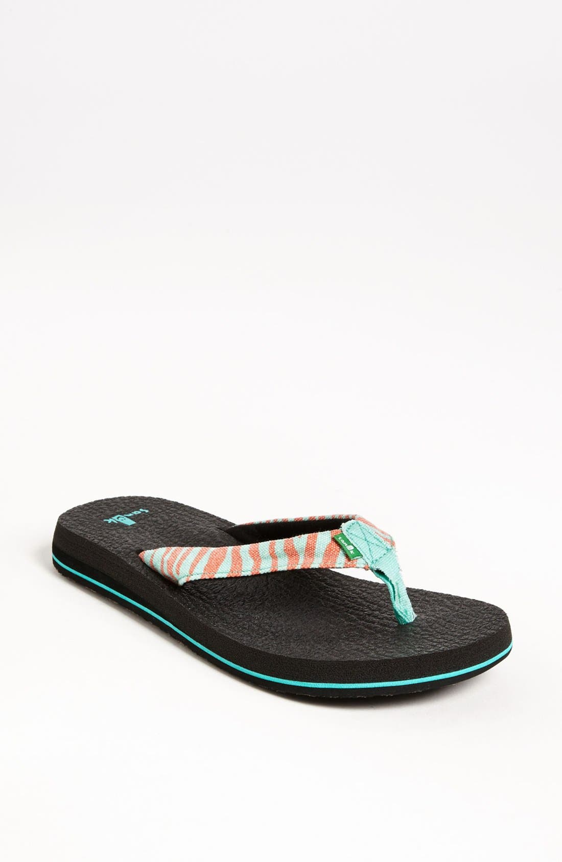 Alternate Image 1 Selected - Sanuk 'Yoga Wildlife' Flip Flop (Women)