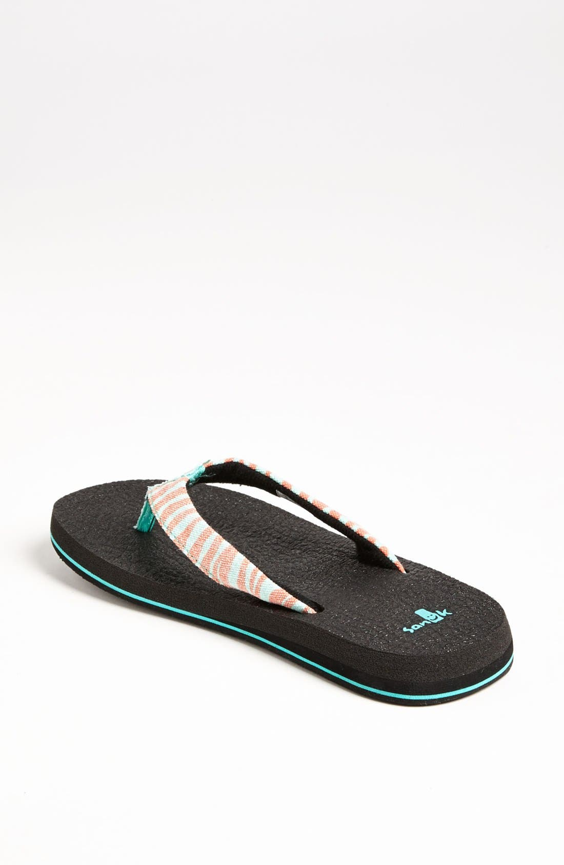 Alternate Image 2  - Sanuk 'Yoga Wildlife' Flip Flop (Women)