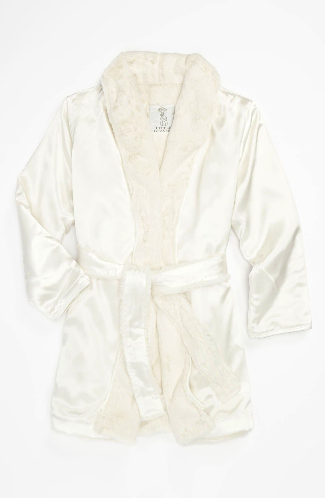 Alternate Image 1 Selected - Little Giraffe 'Luxe' Robe (Toddler)