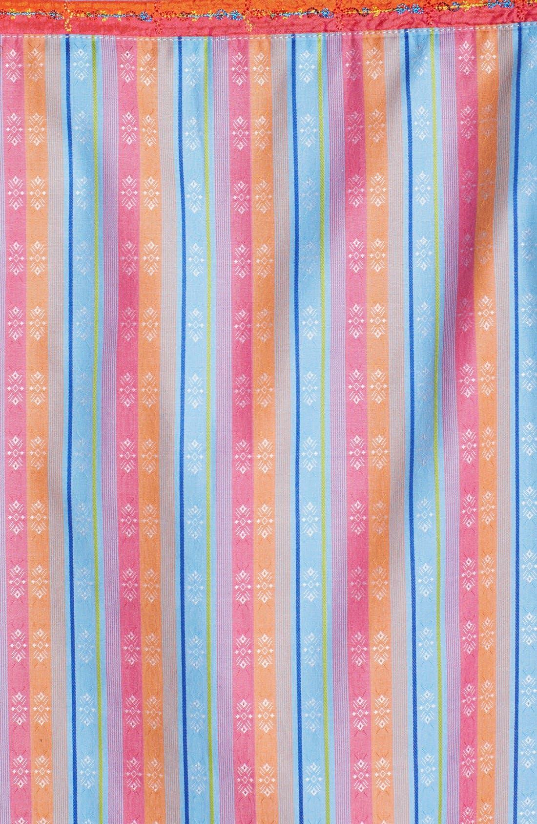 Alternate Image 4  - Robert Graham 'Panama Stripe' Regular Fit Sport Shirt