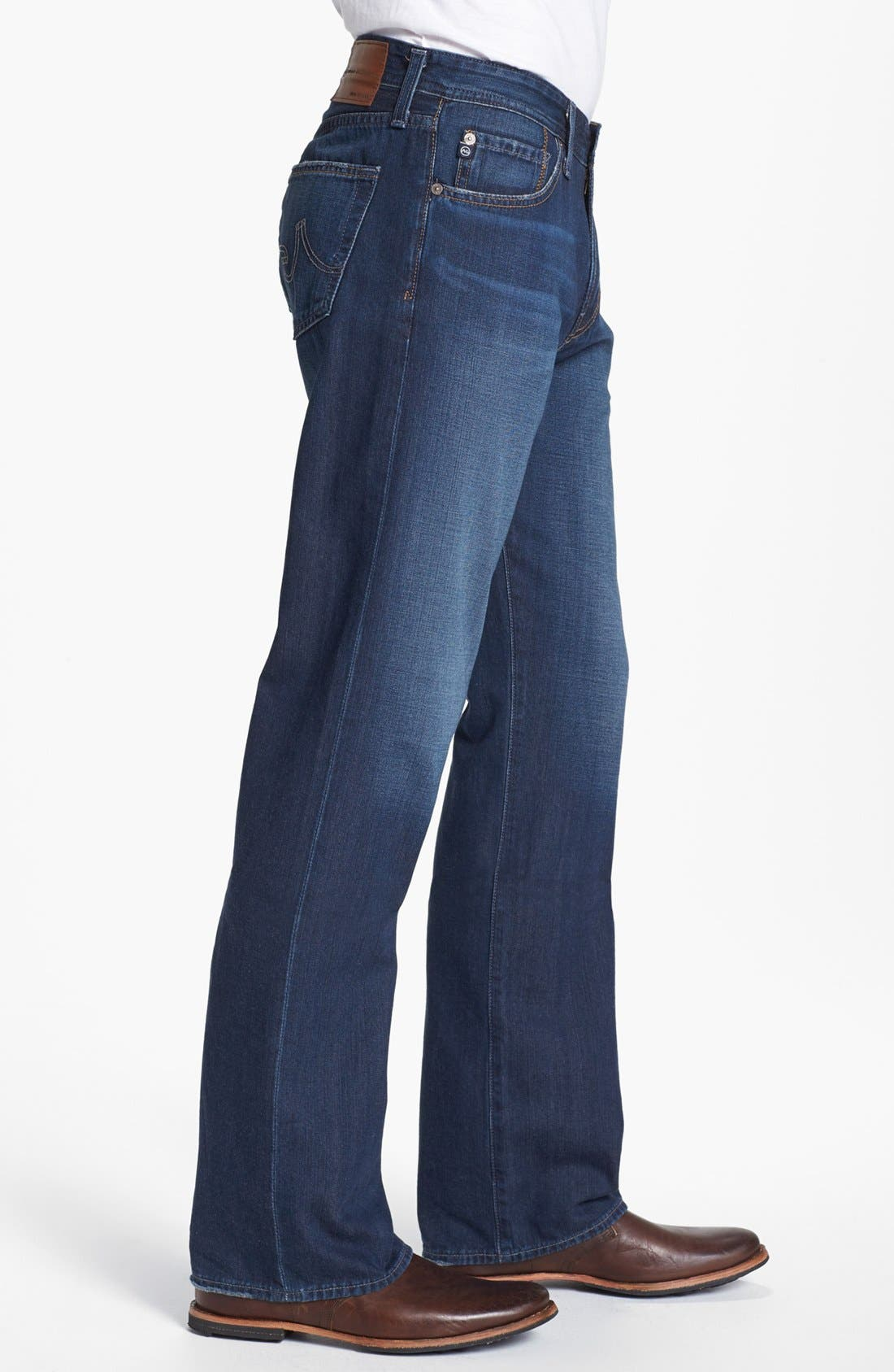 Alternate Image 3  - AG 'Hero' Relaxed Fit Jeans (Parkway)
