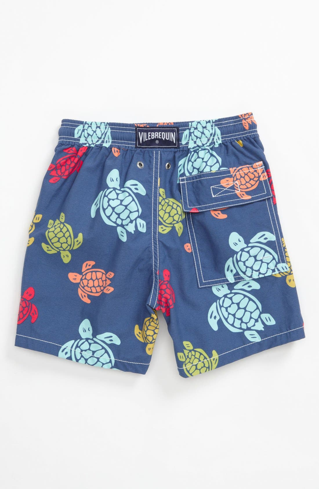 Alternate Image 2  - Vilebrequin 'Jim' Turtle Print Swim Trunks (Little Boys)