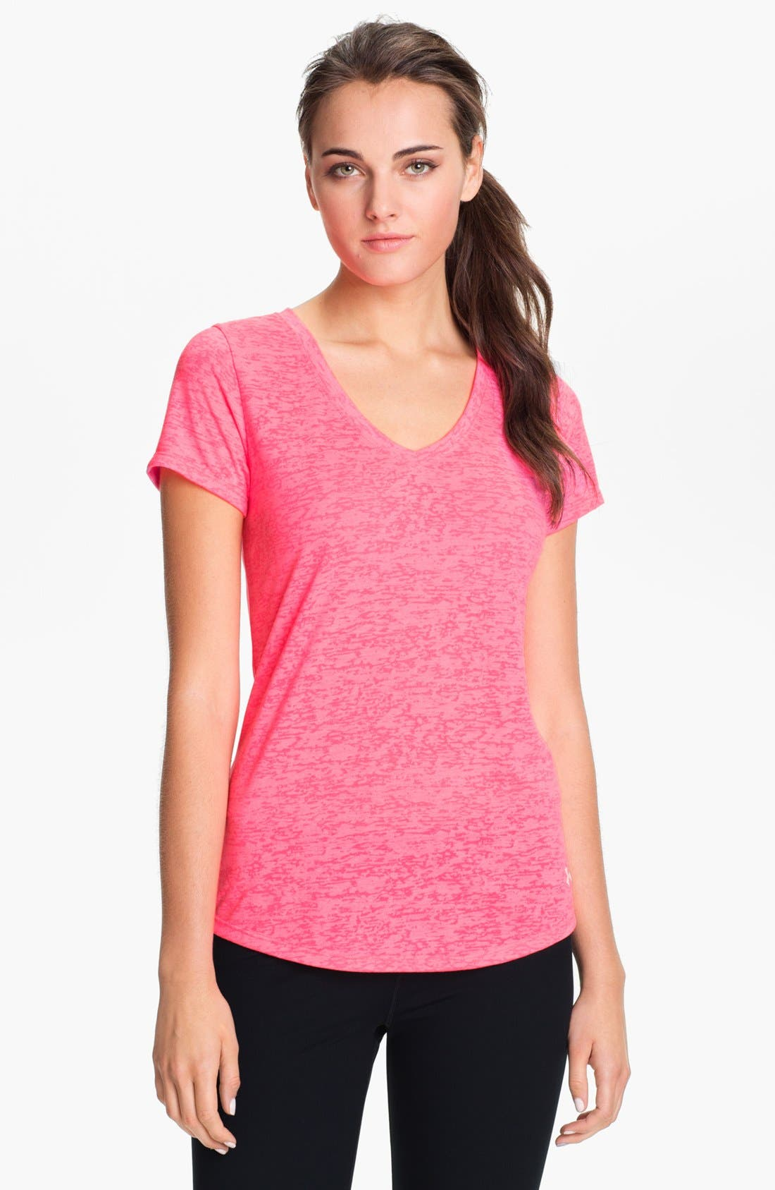 Alternate Image 2  - Under Armour 'Power in Pink - She's a Fighter' Tee