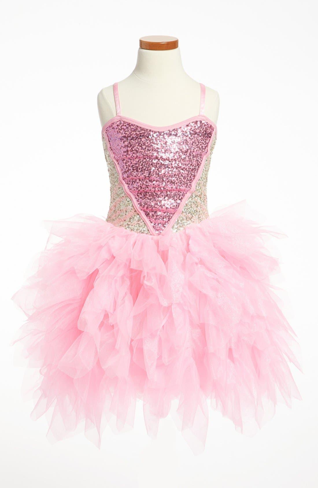 Alternate Image 1 Selected - Ooh! La, La! Couture 'Sweetheart' Dress (Big Girls)
