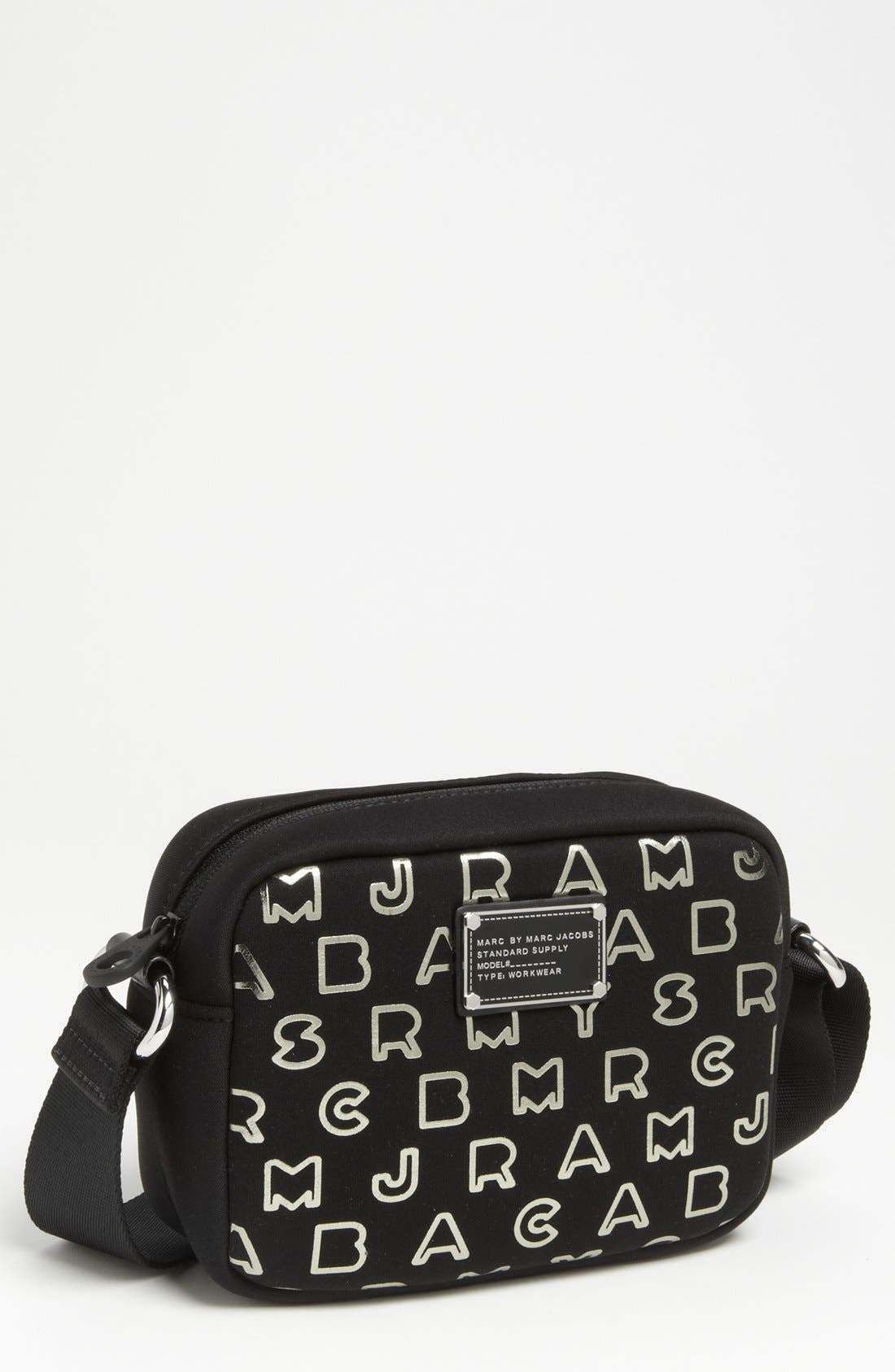 Main Image - MARC BY MARC JACOBS 'Dreamy Logo' Neoprene Camera Bag