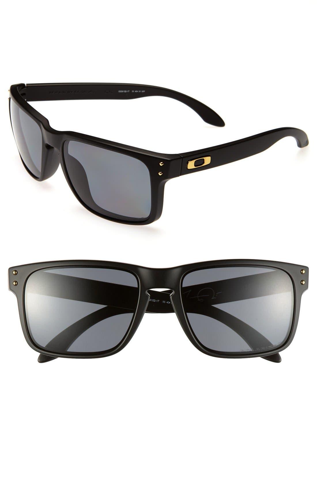 Main Image - Oakley 'Shaun White - Holbrook' 55mm Polarized Sunglasses