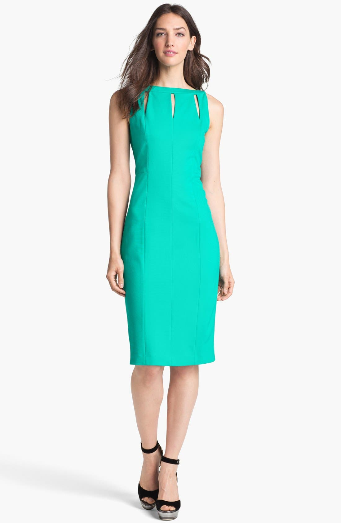 Alternate Image 1 Selected - Rachel Roy Stretch Sheath Dress