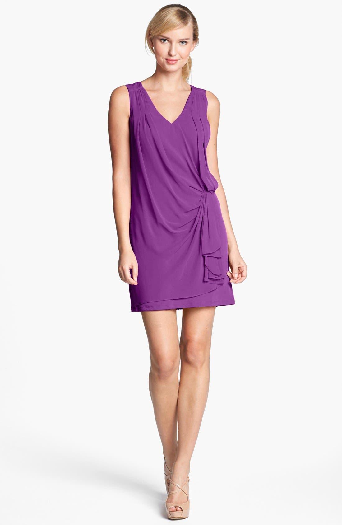 Alternate Image 1 Selected - Vince Camuto Draped Tunic Dress