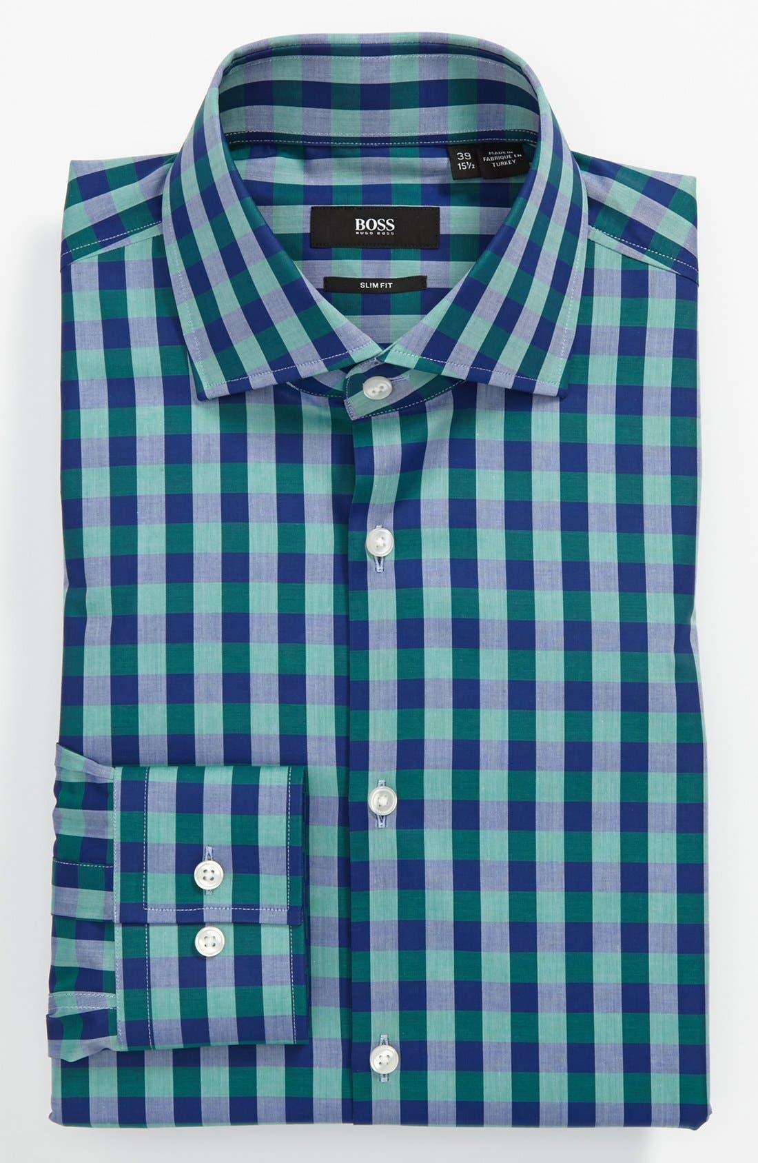 Main Image - BOSS HUGO BOSS Slim Fit Dress Shirt