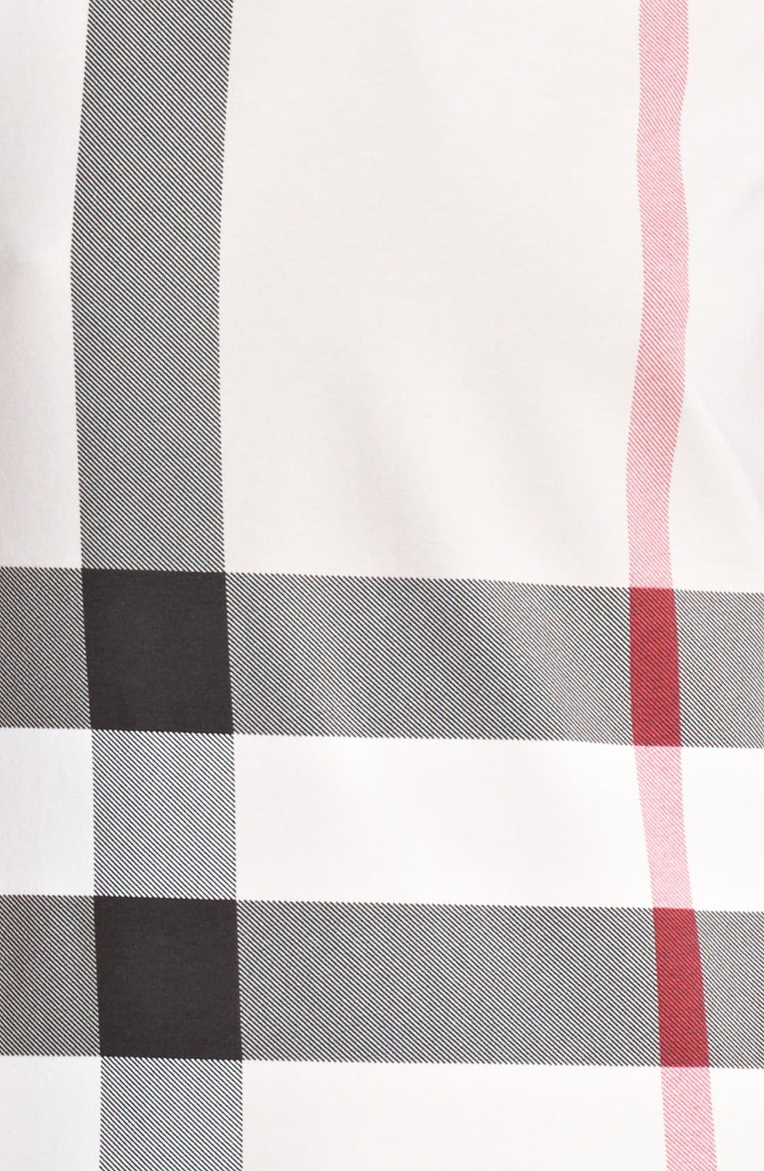 Alternate Image 3  - Burberry Brit Check Print Top