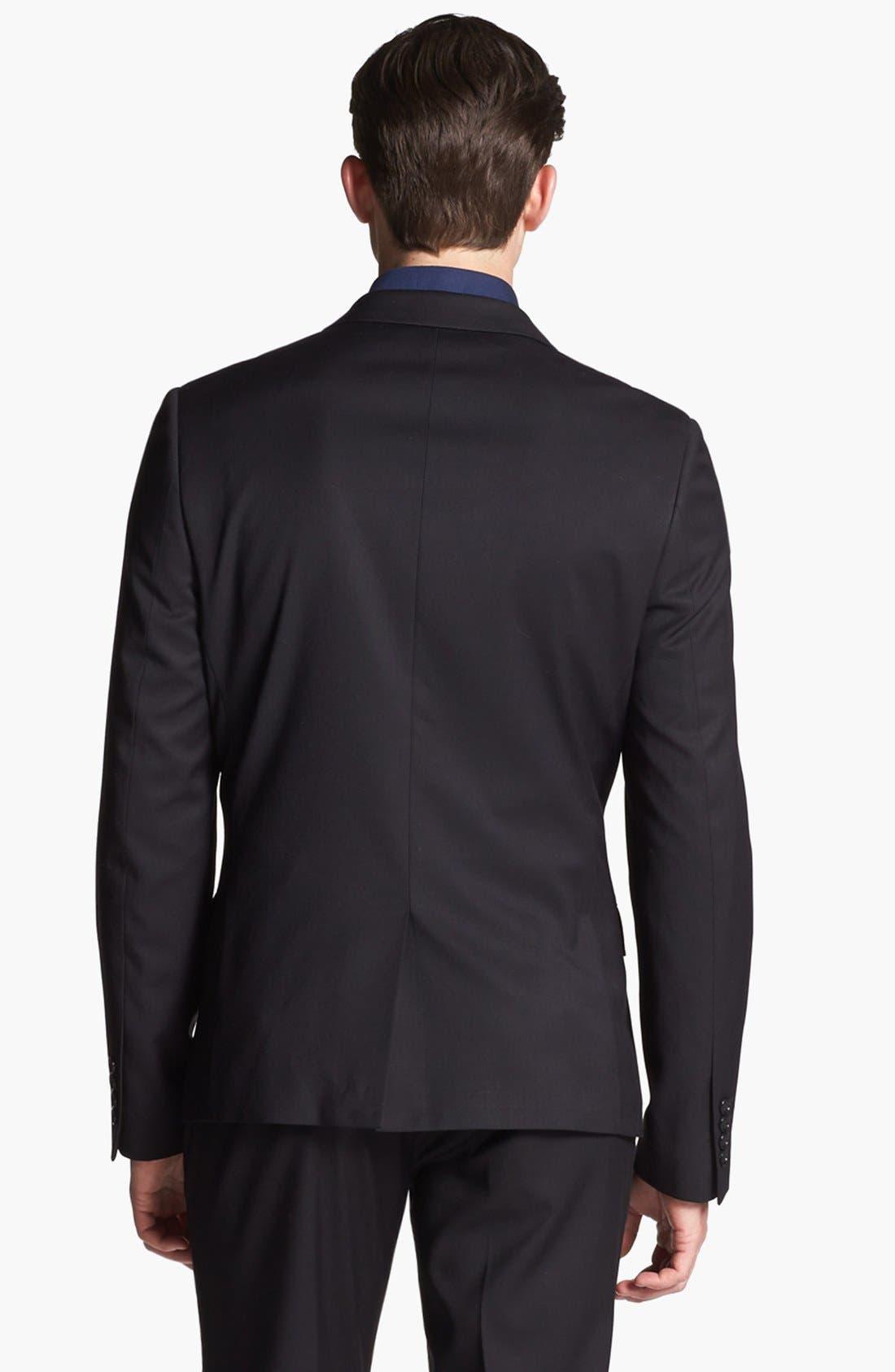 Alternate Image 2  - Topman Slim Fit Tuxedo Jacket