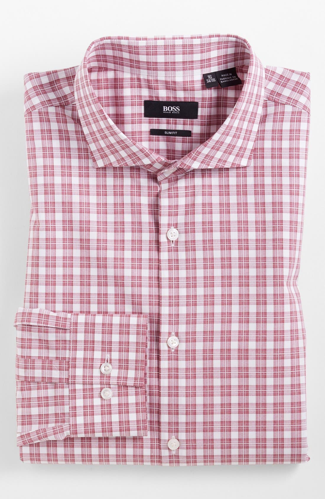 Main Image - BOSS HUGO BOSS 'Jason' Slim Fit Dress Shirt
