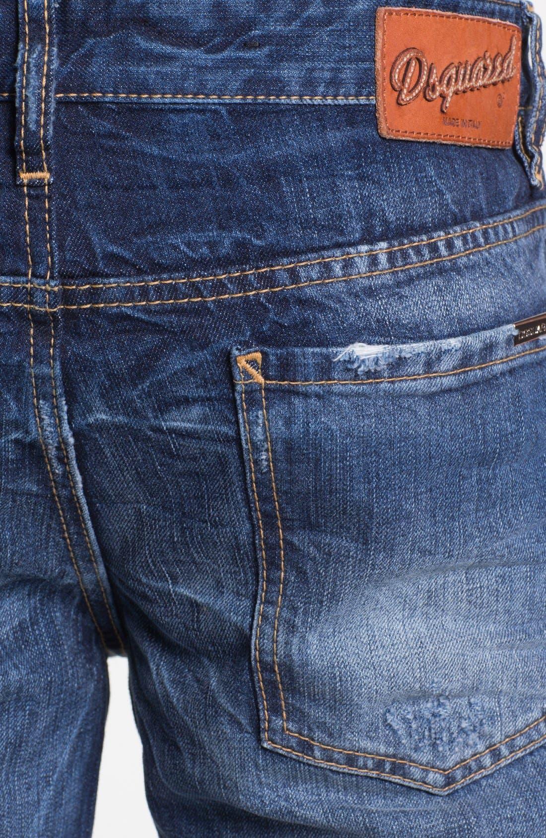 Alternate Image 4  - Dsquared2 'Dean' Straight Leg Jeans