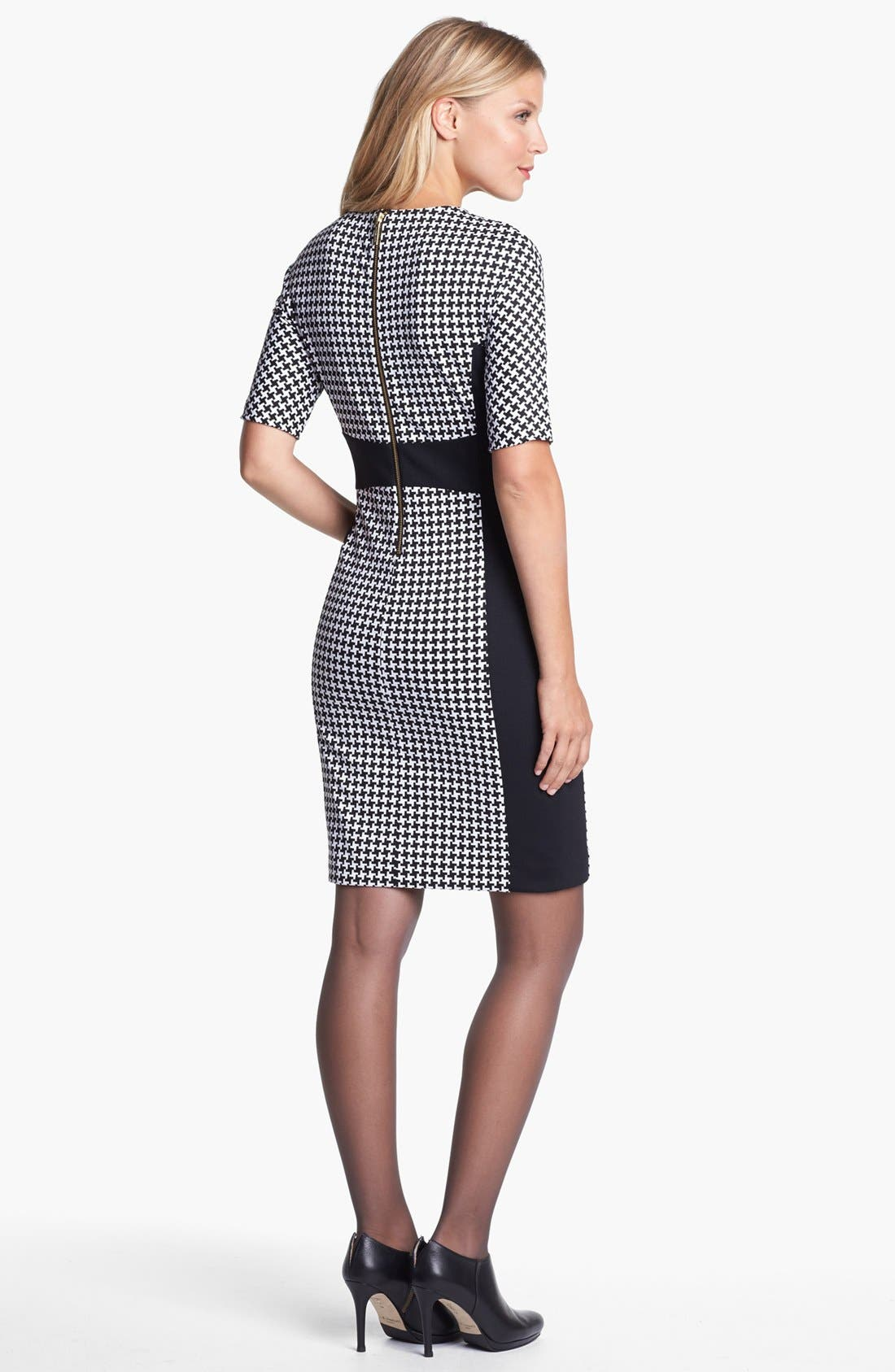 Alternate Image 2  - MICHAEL Michael Kors Contrast Panel Crewneck Dress
