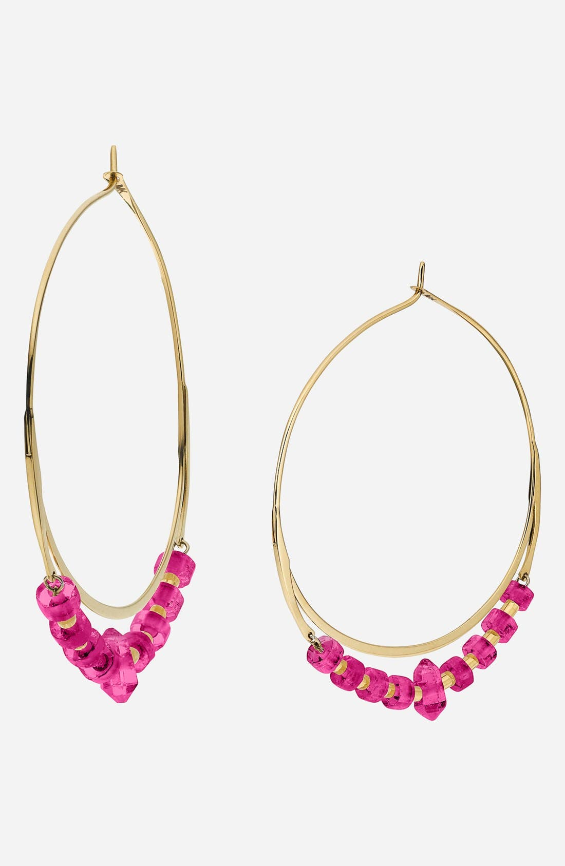Alternate Image 1 Selected - Michael Kors 'Seaside Luxe - Whisper' Hoop Earrings