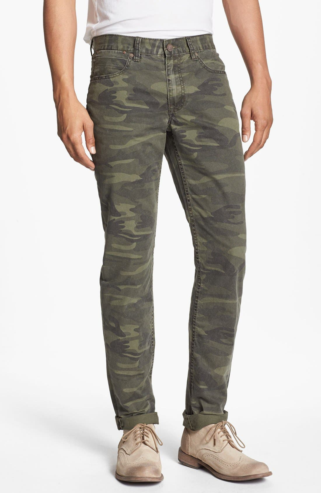 Main Image - Williamsburg Garment Company 'Grand Street' Slim Fit Pants