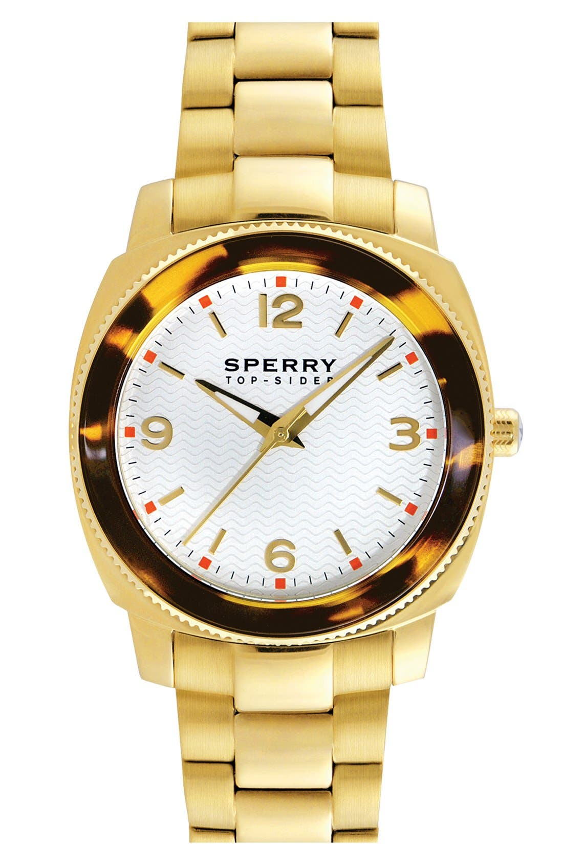 Alternate Image 1 Selected - Sperry Top-Sider® 'Summerlin' Bracelet Watch, 38mm