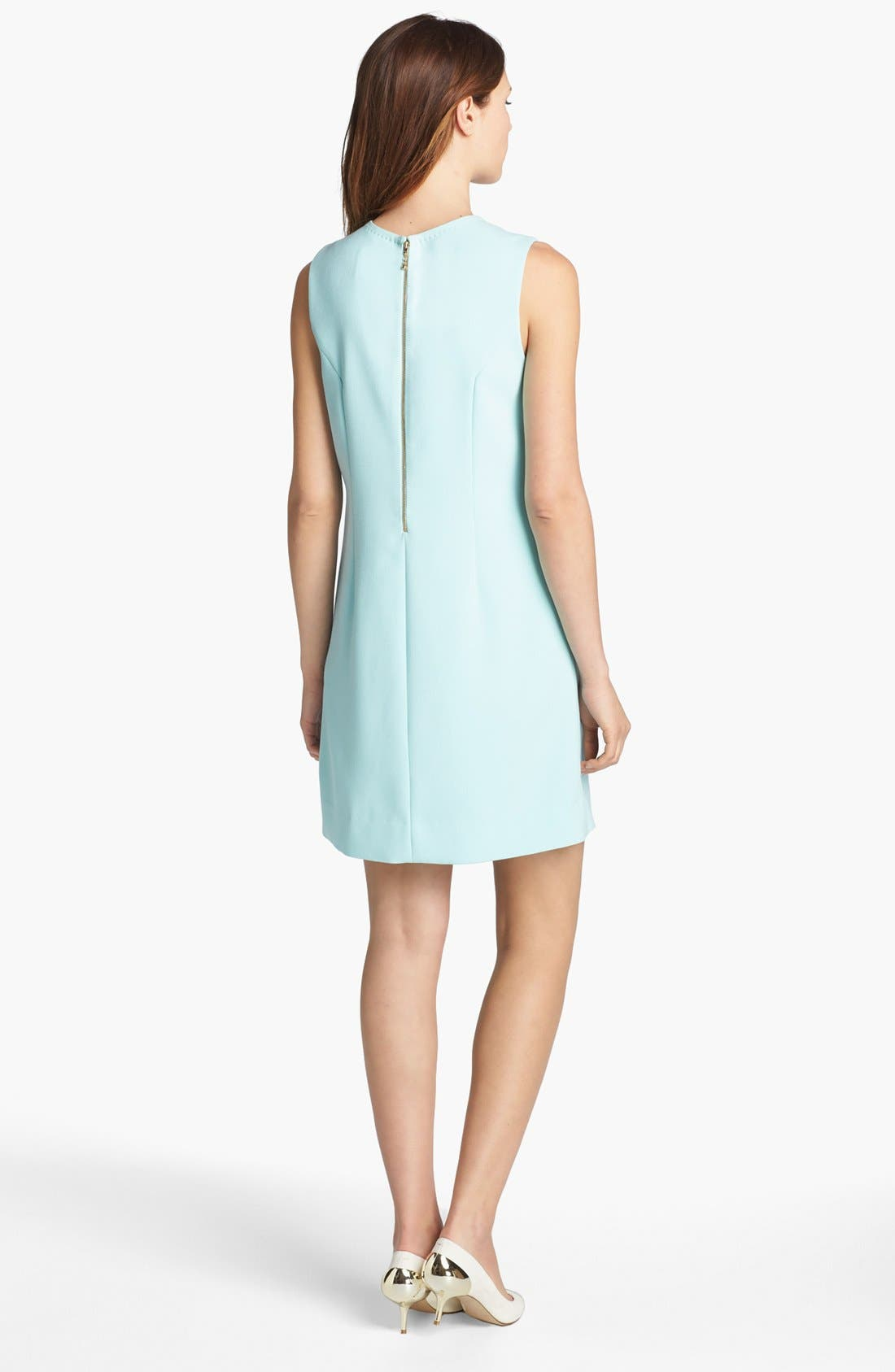 Alternate Image 2  - kate spade new york 'tali' crepe shift dress