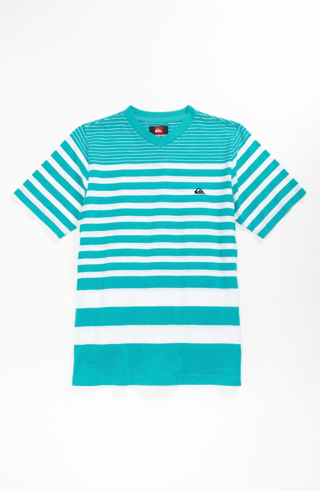 Alternate Image 1 Selected - Quiksilver 'Car Path' Slubbed Cotton T-Shirt (Big Boys)