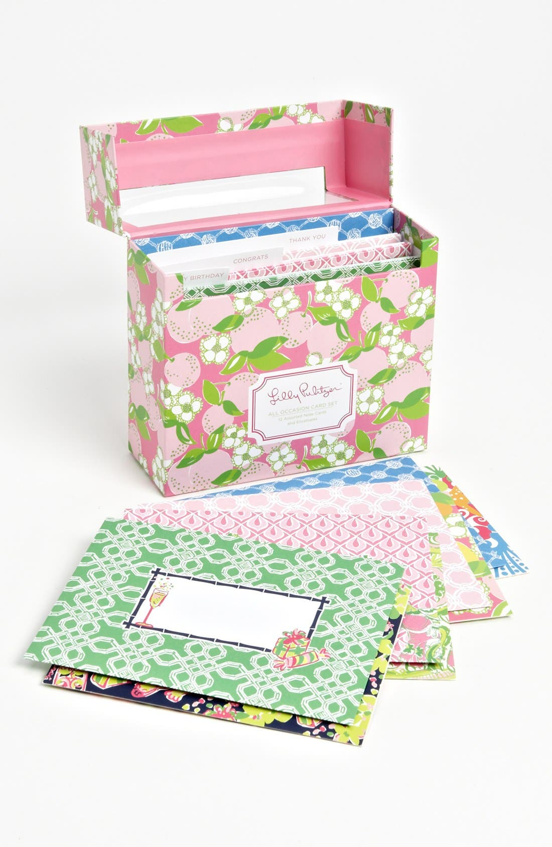 Alternate Image 1 Selected - Lilly Pulitzer® Printed All Occasion Note Cards (Set of 12)