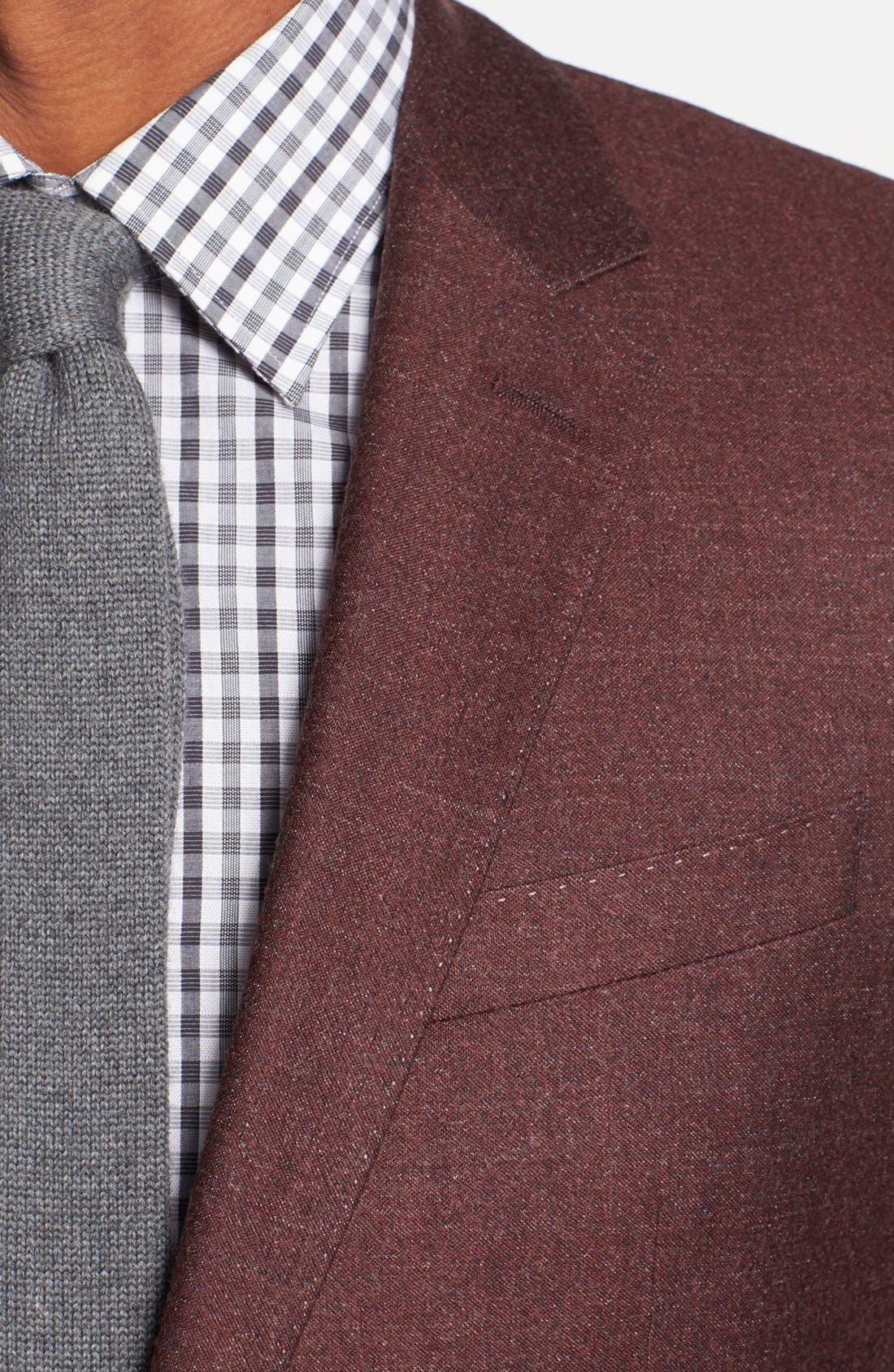 Alternate Image 2  - BOSS HUGO BOSS 'Hutch' Trim Fit Wool Blazer