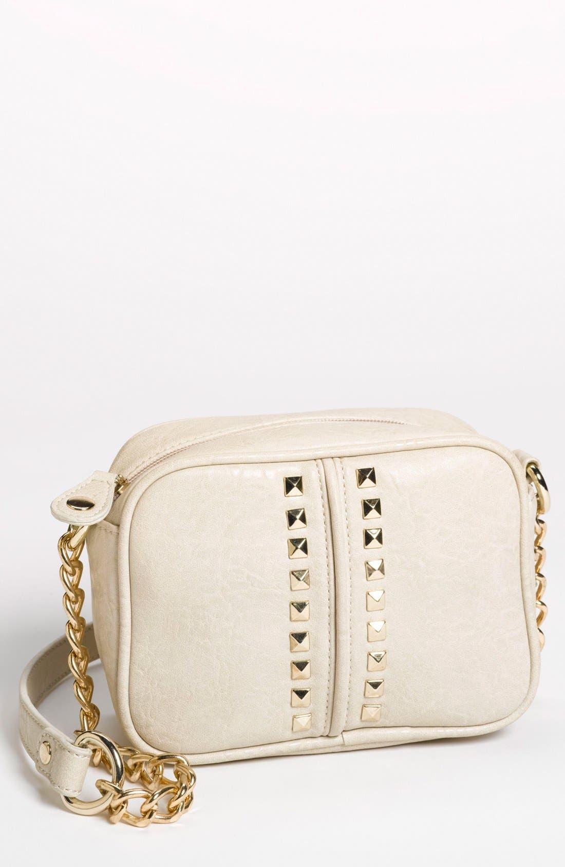 Main Image - Emperia 'Small' Studded Crossbody Bag (Juniors)